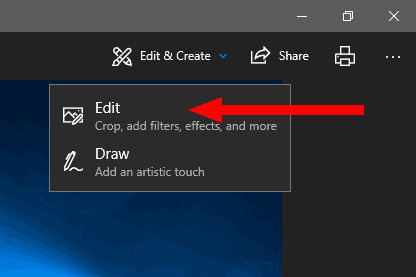 Windows 10 Crop Image With Photos 1