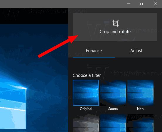 Windows 10 Crop Image With Photos 2