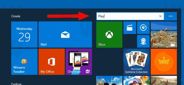 Windows 10 Rename Tile Group