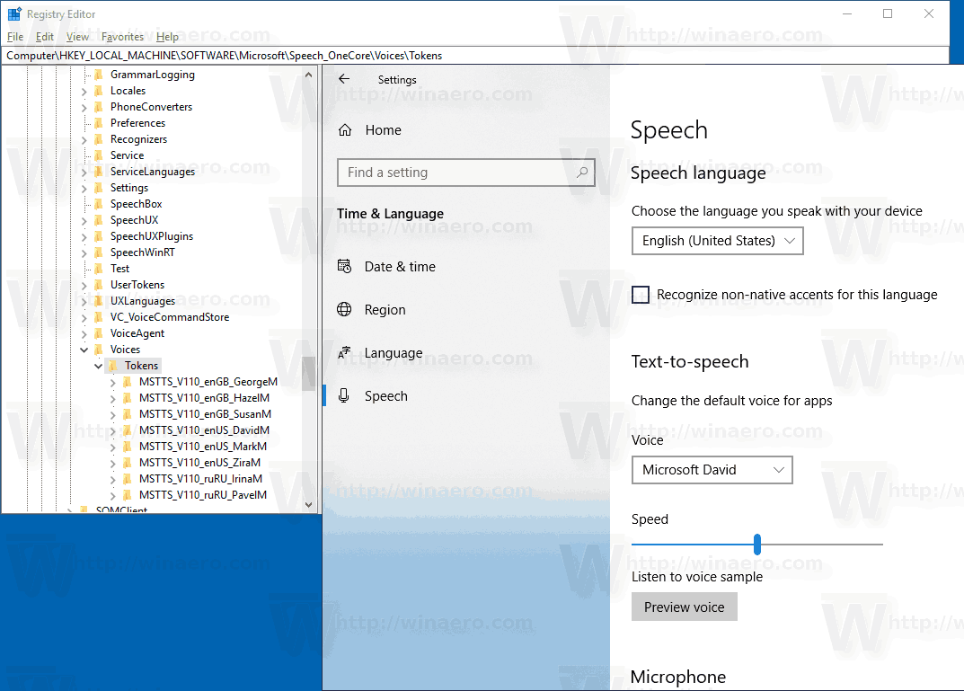 Unlock Extra Text to Speech Voices in Windows 10