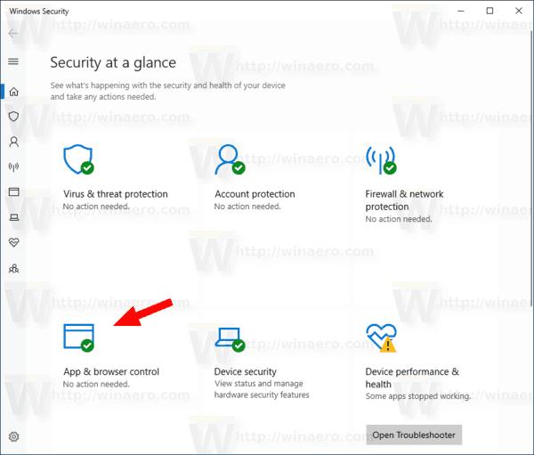 how to turn off windows defender smartscreen windows 10