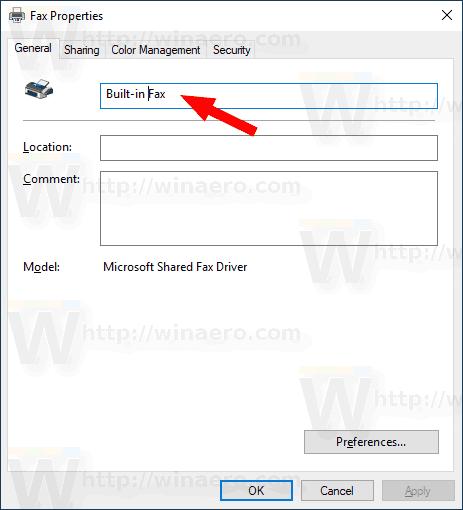 Windows 10 Rename A Built In Printer 2