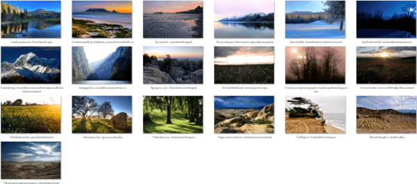 Natural Landscapes Themepack Wallp