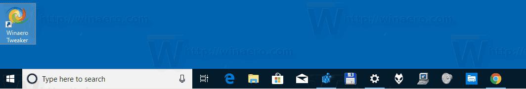 Windows 10 Taskbar Visible