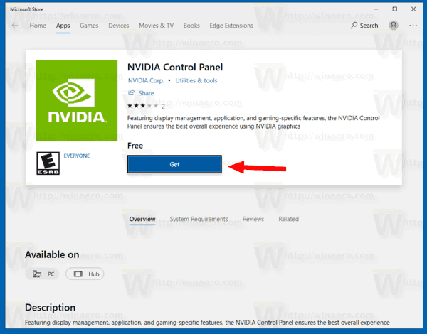 where is nvidia control panel in windows 10