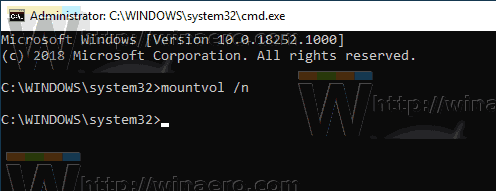 Windows 10 Mountvol Automount Disable