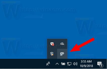 Windows 10 Presentation Mode Tray Icon
