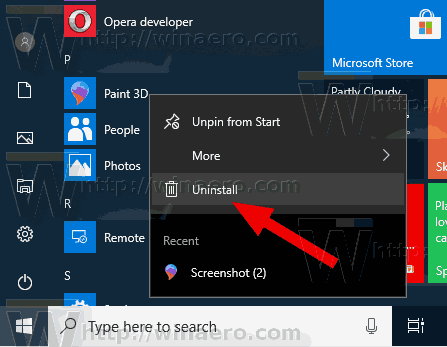 Windows 10 Uninstall Preinstalled Apps