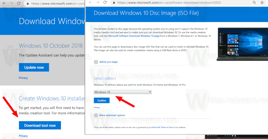 latest version of windows 10 iso download