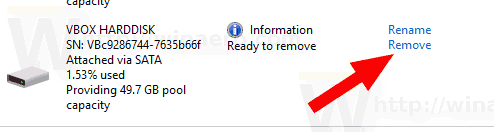 Windows 10 Drive Is Ready To Remove