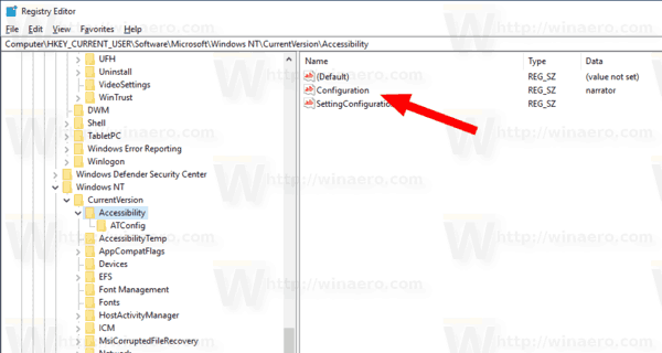 Windows 10 Start Narrator After Sign In Tweak