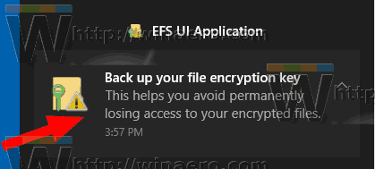 Encrypt Offline Files Cache Backup Key