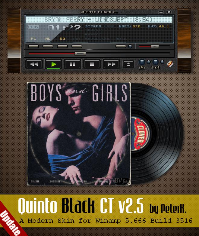 Quinto Black CT 2.5