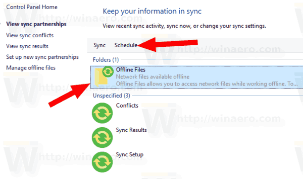 how to turn on offline sync in sheetsw