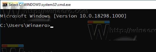 Windows 10 Small Cursor Size