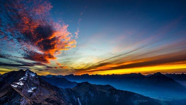 Fhaller Surreal Sunset