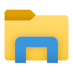 File Explorer Folder Libraries Icon 18298