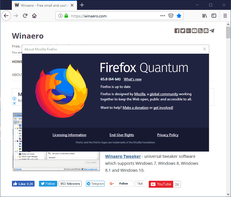 8ab2a0d7007bcc Firefox 65 Release