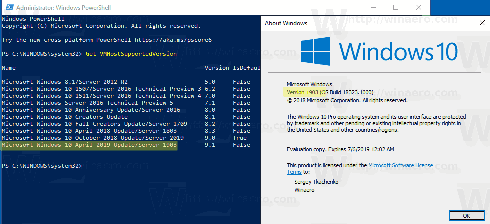 Windows 10 19H1 is officially version 1903, could be April 2019 Update