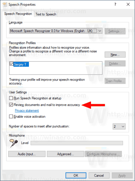 Windows 10 Disable Document Review