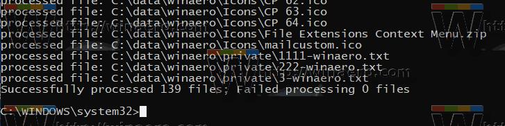 Windows 10 Reset NTFS Permissions 2