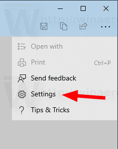 Windows 10 Snip Sketch Settings