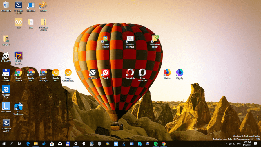 Hot Air Balloons theme for Windows 10, Windows 8 and Windows 7