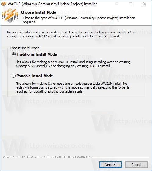 Winamp Wacup 1