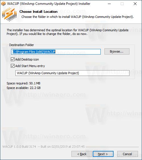 Winamp Wacup 3