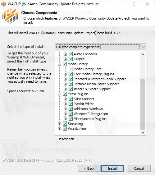 Winamp Wacup 4
