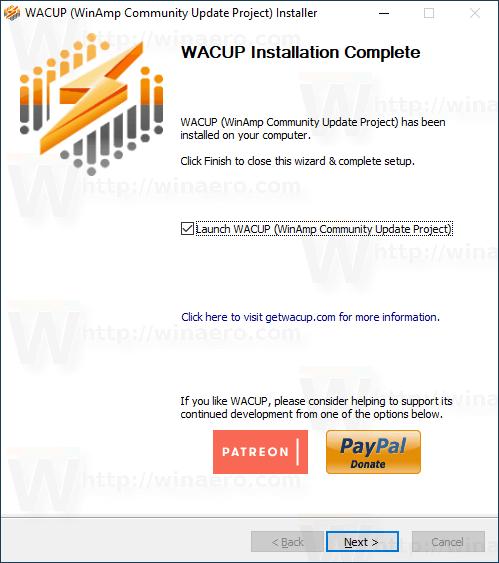 Winamp Wacup 5