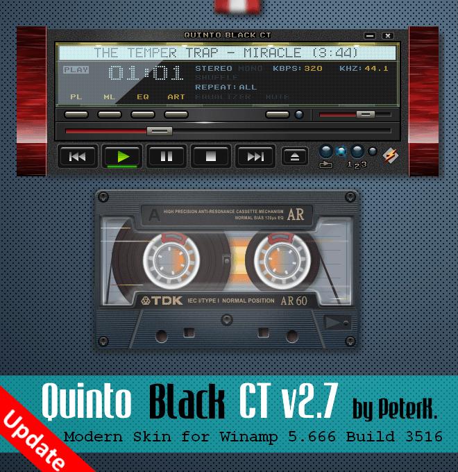 Quinto Black CT 2 7