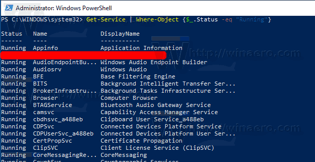 WIndows 10 Save Services To A File In Windows 10 With Ps1