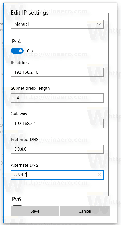 Windows 10 Settings App Static Ip 5