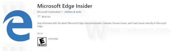 Edge Insider Extension 1