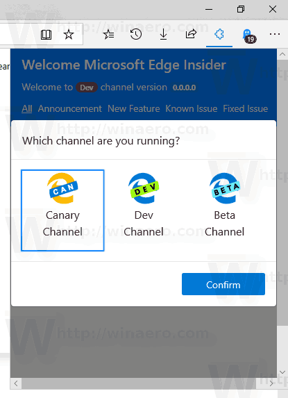 Edge Insider Extension 3
