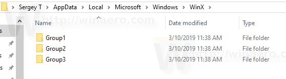 WinX Group Folder
