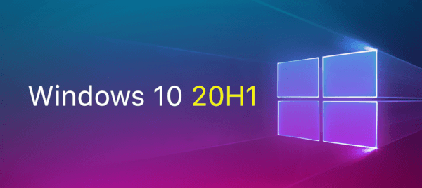Windows 10 20H1 Banner