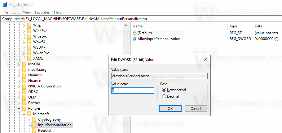 windows 10 local group policy registry