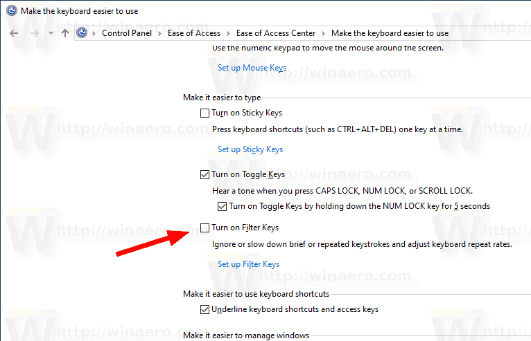windows 10 change keyboard repeat rate
