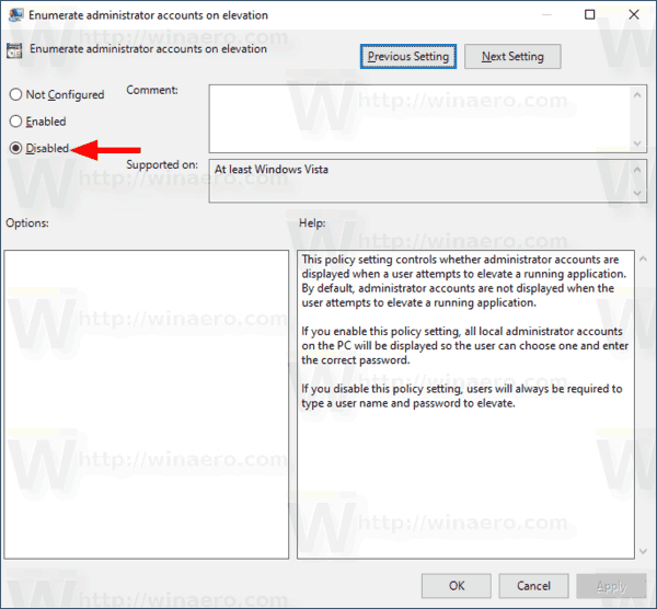 Windows 10 Enumerate Administrator Accounts On Elevation 4