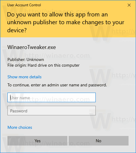 Windows 10 UAC Hide Administrator Account