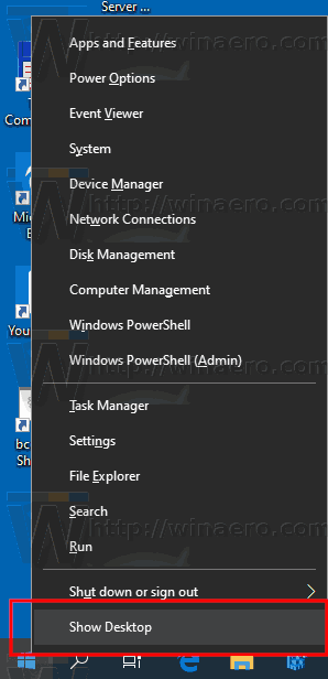 Windows 10 WinX Menu Shortcut New Name