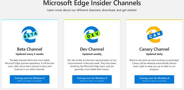 Microsoft Edge Download Page Win8