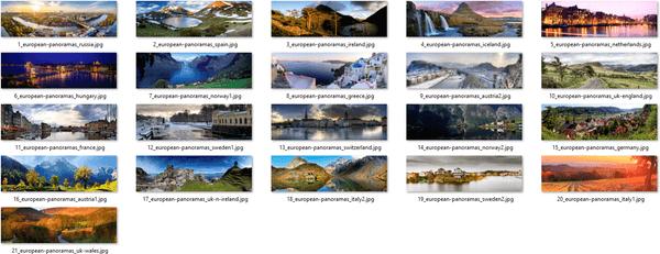 Panoramas Of Europe Themepack Wallpapers