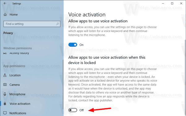 Windows 10 Privacy Voice Activation 02