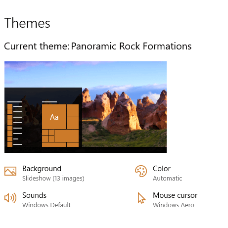 Rock Formations Theme for Windows 10, 8, and 7