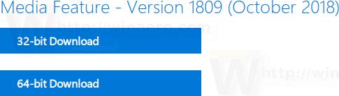 Windows 10 Media Feature Pack 2