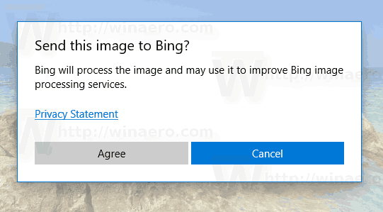 Windows 10 Photos Similar Image Search Confirmation