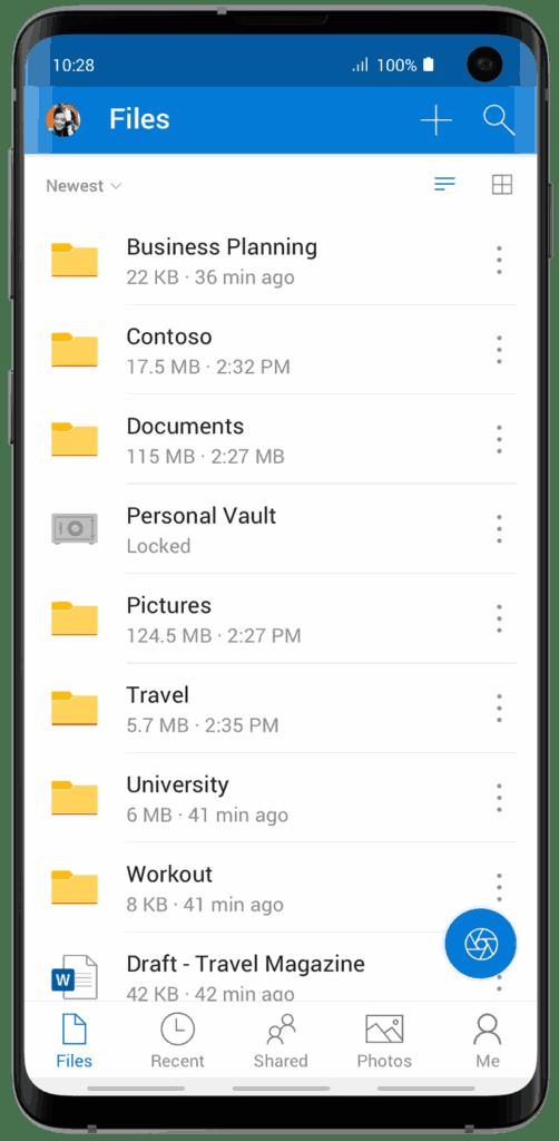 OneDrive Personal Vault 1